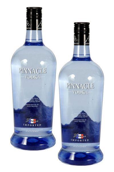 Pinnacle Vodka 1.75L x 2