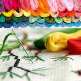 Embroidery Thread 100 Rainbow Themed Floss - Friendship Bracelet String