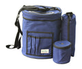 Yarn Storage for Knitting & Crocheting On-The-Go 3PC Set - Navy Blue