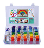 Embroidery Thread Friendship Bracelet Kit - Rainbow Theme