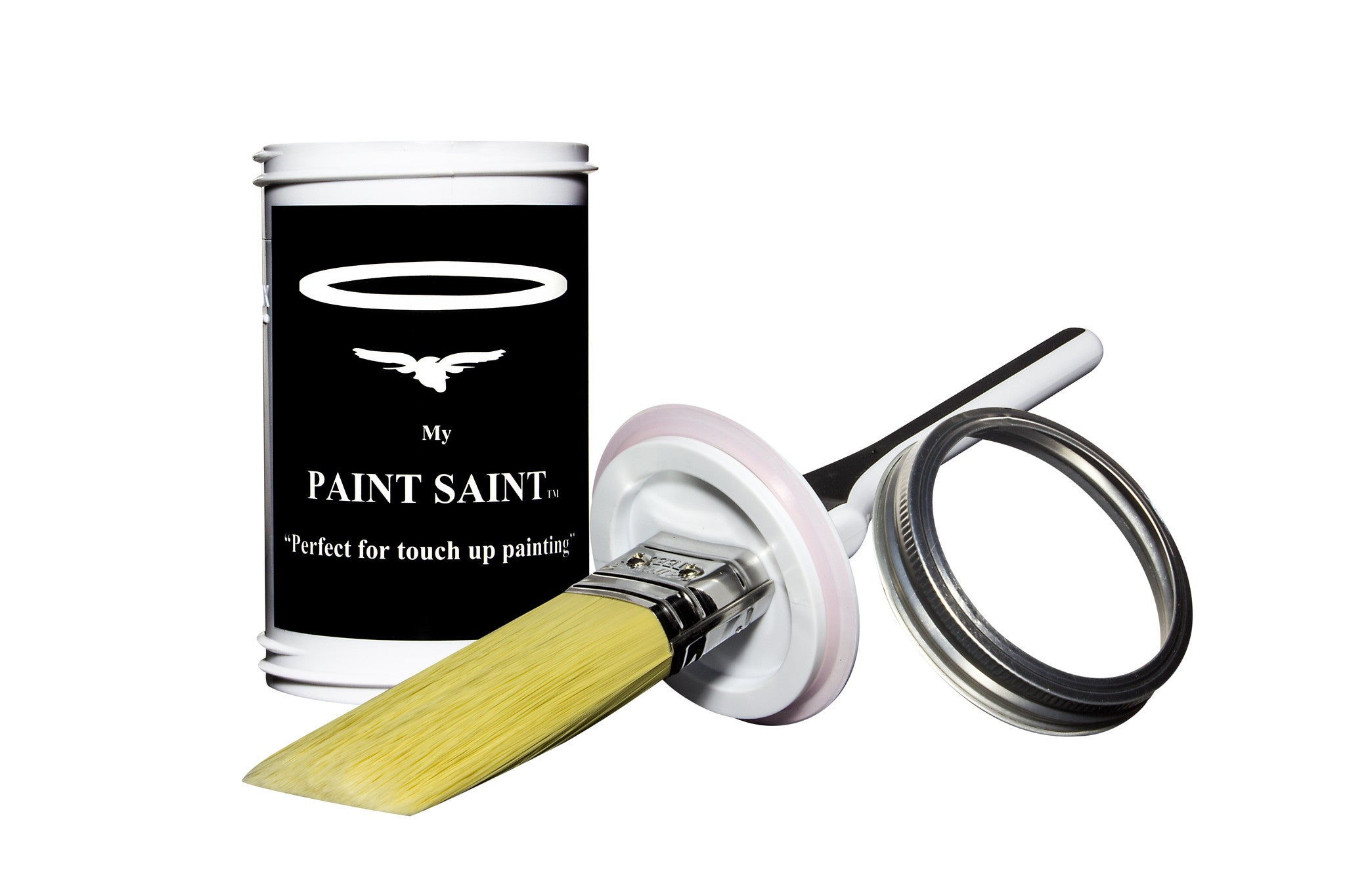 Touch Up Paint Brush and can. Interior and Exterior Painting.