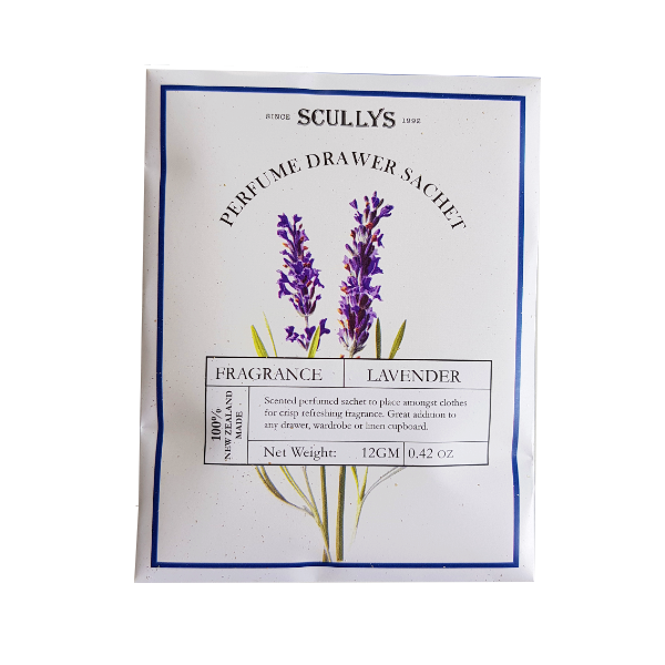 Perfumed Drawer Sachet - Lavendar