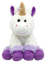Large plush unicorn