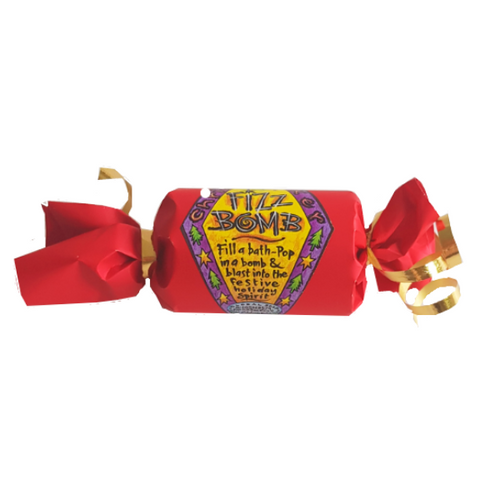 Xmas cracker bath bomb from take a whiff