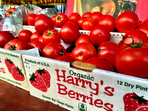 Harry's Berries tomatoes Santa Monica Farmers Market October 7th 2015