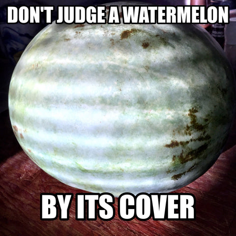 orange watermelon farmers market meme