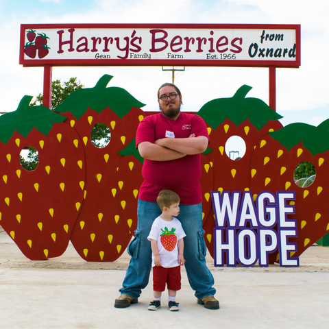 Harry's Berries PANCAN Make Love With Food charity event