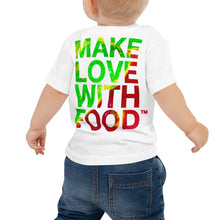 Load image into Gallery viewer, Strawberry Baby Cotton Short Sleeve T Shirt White Back