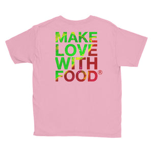 Strawberry Youth Cotton Short Sleeve T Shirt Charity Pink Back