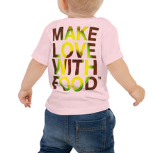 Load image into Gallery viewer, Avocado Baby Cotton Short Sleeve T Shirt Pink Back