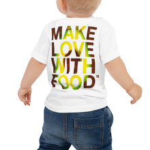 Load image into Gallery viewer, Avocado Baby Cotton Short Sleeve T Shirt White Back