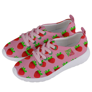 Strawberry Women's Lightweight Sports Shoe Side