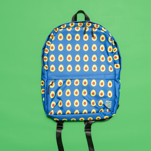 Avocado Kids and Toddler Blue Backpack