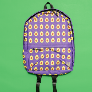 Avocado Kids and Toddler Purple Backpack