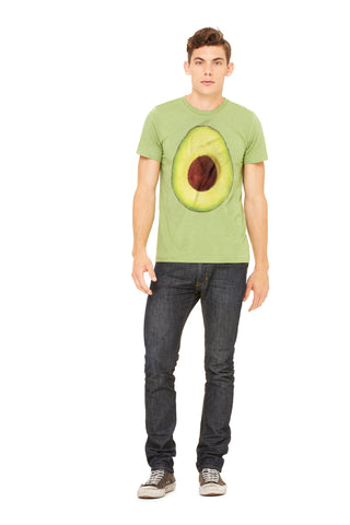 Hass Avocado Men's Tee by Garcia Organic Farm - Make Love With Food  - 1