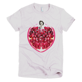 Pomegranate Heart Women's Tee by Burkart Organics - Make Love With Food  - 2