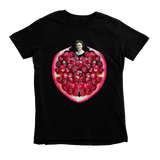 Pomegranate Heart Kids Tee by Burkart Organics - Make Love With Food  - 2