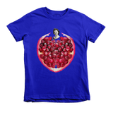 Pomegranate Heart Kids Tee by Burkart Organics - Make Love With Food  - 1