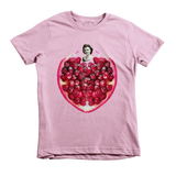 Pomegranate Heart Kids Tee by Burkart Organics - Make Love With Food  - 3