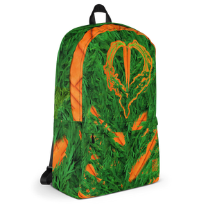 Carrot Heart Kids and Toddler Backpack side