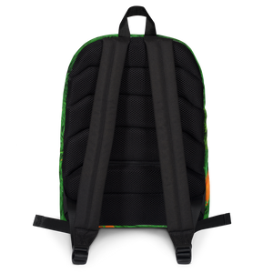 Carrot Heart Kids and Toddler Backpack  back