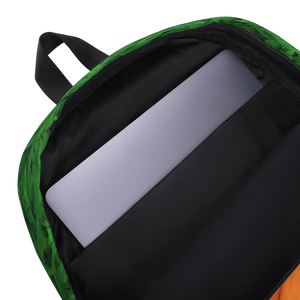 Carrot Heart Kids and Toddler Backpack inside