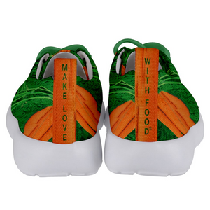 Carrot Heart Kids Lightweight Sports Shoes Back
