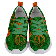 Load image into Gallery viewer, Carrot Heart Kids Lightweight Sports Shoes Front