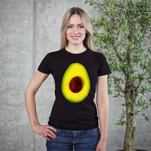 Hass Avocado Women's Tee by Garcia Organic Farm - Make Love With Food  - 1