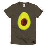 Hass Avocado Women's Tee by Garcia Organic Farm - Make Love With Food  - 3