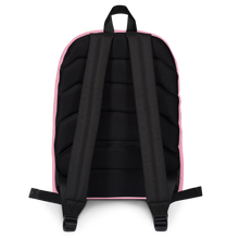 Load image into Gallery viewer, Strawberry Pink Backpack back