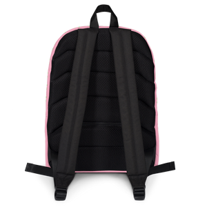 Strawberry Pink Backpack back