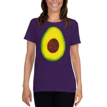 Load image into Gallery viewer, Avocado Women's Cotton T Shirt