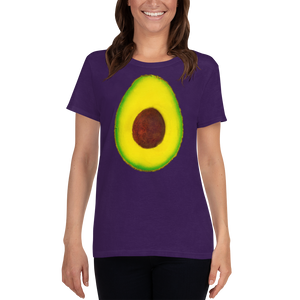 Avocado Women's Cotton T Shirt