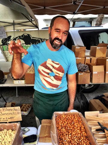 Heirloom Sonora Wheat Donut Tee by Fat Uncle Farms - Make Love With Food  - 1