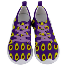 Load image into Gallery viewer, Purple Avocado Women's Lightweight Sports Shoes Front