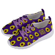 Load image into Gallery viewer, Purple Avocado Women's Lightweight Sports Shoes Side