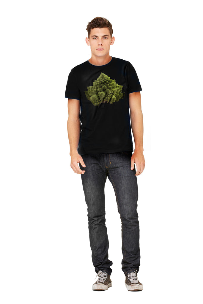 Romanesco Men's Tee - Make Love With Food  - 3