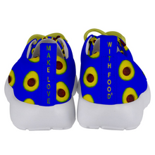 Load image into Gallery viewer, Royal Blue Avocado Kids Lightweight Sports Shoes Back