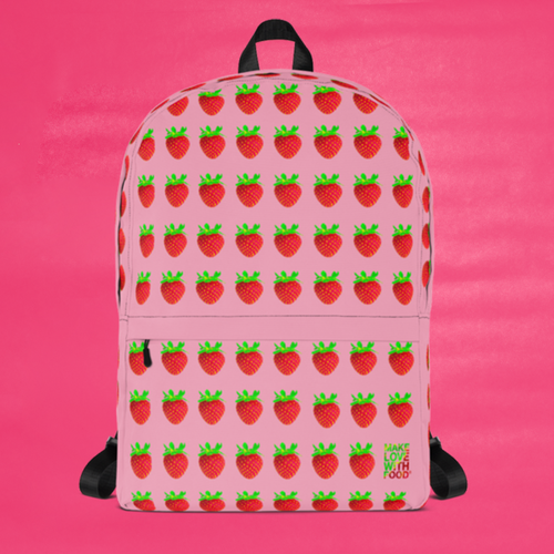 Strawberry Kids and Toddler Backpack
