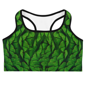 Artichoke Women's Yoga Sports Bra Front