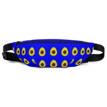 Load image into Gallery viewer, avocado blue kids fanny pack front