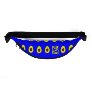 avocado blue kids fanny pack top