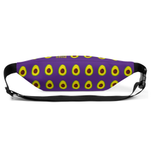 Load image into Gallery viewer, avocado purple kids fanny pack back