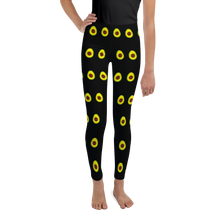 Load image into Gallery viewer, Avocado Youth and Kids Leggings black