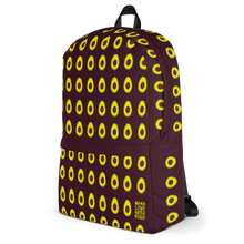 Load image into Gallery viewer, Avocado Kids and Toddler Maroon Backpack side