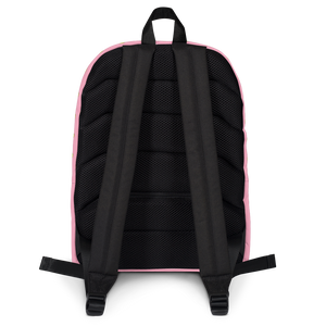 Avocado Kids and Toddler Pink Backpack back