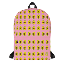 Load image into Gallery viewer, Avocado Kids and Toddler Pink Backpack front