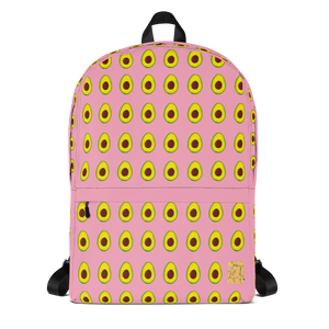Avocado Kids and Toddler Pink Backpack front