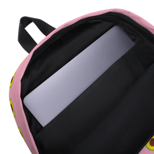 Load image into Gallery viewer, Avocado Kids and Toddler Pink Backpack inside